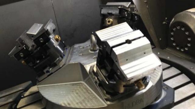 Best machineklem Nederland toolingpartners 5-ax spangereedschap
